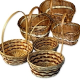 Плетеные корзины (комплекты)
