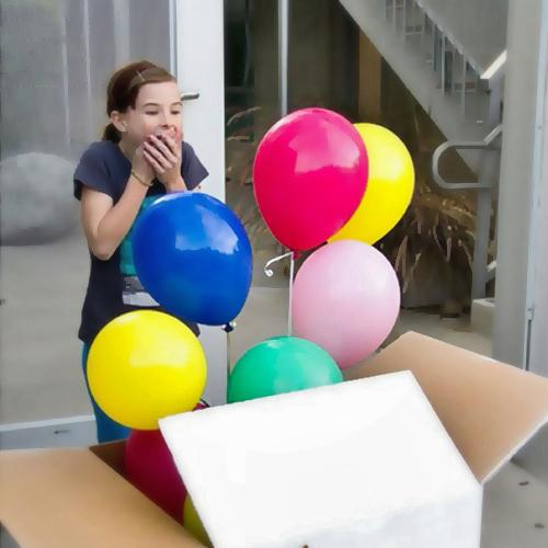 Коробка под шары своими руками