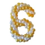 """Цифра из шаров """"6"""""""