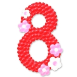 """Цифра из шаров """"8"""""""