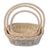 Плетеные корзины (компл)