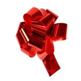 Бант-шар (метал. красный)