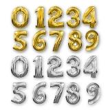 Цифры в ассортименте (серебро/золото)