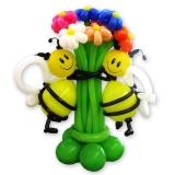 """Букет из шаров """"Пчелки"""""""