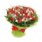 """Букет из тюльпанов """"Весенний блюз"""""""