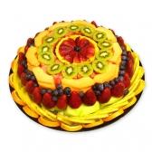 """Фруктовый торт """"Поздравительный"""""""