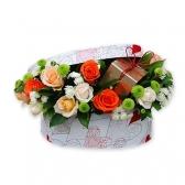 """Цветы в коробке """"Сюрприз"""""""