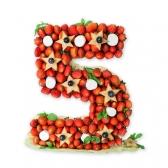 Цифра из фруктов