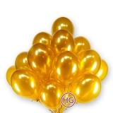Облако из шаров (золото)