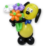 """Фигура из шаров """"Веселая собачка"""""""