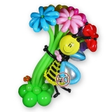 """Букет из шаров """"Пчелка"""""""