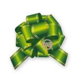 Бант-шар (зеленый с полосой)