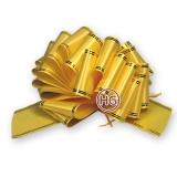 Большой бант шар (желтый)