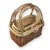 Плетеные корзины для пикника (комплект)