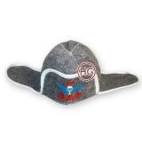 Банная шапка-ушанка