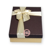 Подарочные коробки (комплект с бантом)