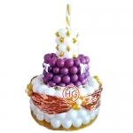 Торт из шаров