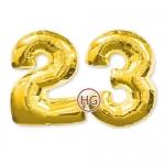 "Цифры из шаров ""23"""