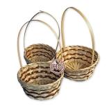 Плетеные корзины для флористики