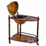 Глобус-бар со столиком (сфера 33 см)