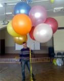 Облако больших воздушных шаров