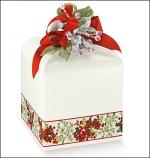 Картонная коробка (белый перламутр)