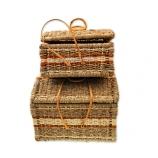 Плетеные чемоданы для белья