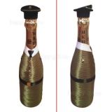 "Декор бутылки ""С днем защитника отечества"""