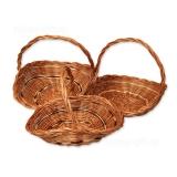 Плетеная корзина (комплект)
