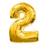 """Цифра из шаров """"2"""""""