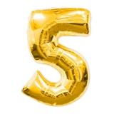 "Воздушный шар ""Цифра 5"""