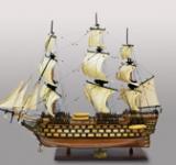 Парусник ''HMS VICTORY''-100