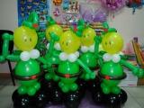 Веселые солдаты из шариков