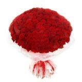 Букет с розами (215шт)