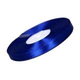 Лента атласная (синяя, узкая)