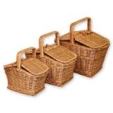 Корзины для пикника (комплект)