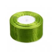 Лента для бантов (зеленая, органза)
