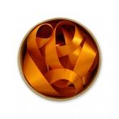 Лента шелковая (оранжевый)
