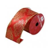 Новогодняя лента (Красная)