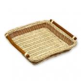 Плетеный лоток из ротанга
