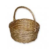 Плетеная корзина (малая, золото)