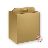 Упаковка Portapanettone+Bot (золото)