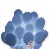 Облако шаров (светящиеся, белые)