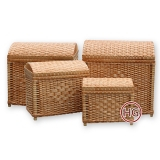 Плетеные сундуки (комплект)