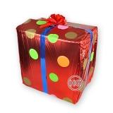 Коробка сюрприз из шаров
