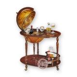Глобус-бар со столиком