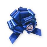 Декоративный бант-шар (синий)