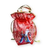 Мешочек из ткани (красный)