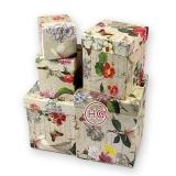 Картонные коробки (комплект матрёшка)