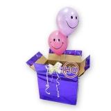 Коробка сюрприз (шары улыбка)